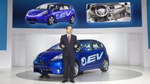 Honda Fit EV Concept live at Los Angeles Auto Show 2010 17.11.2010