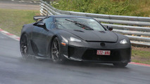 Production Lexus LF-A Spied Inside & Out