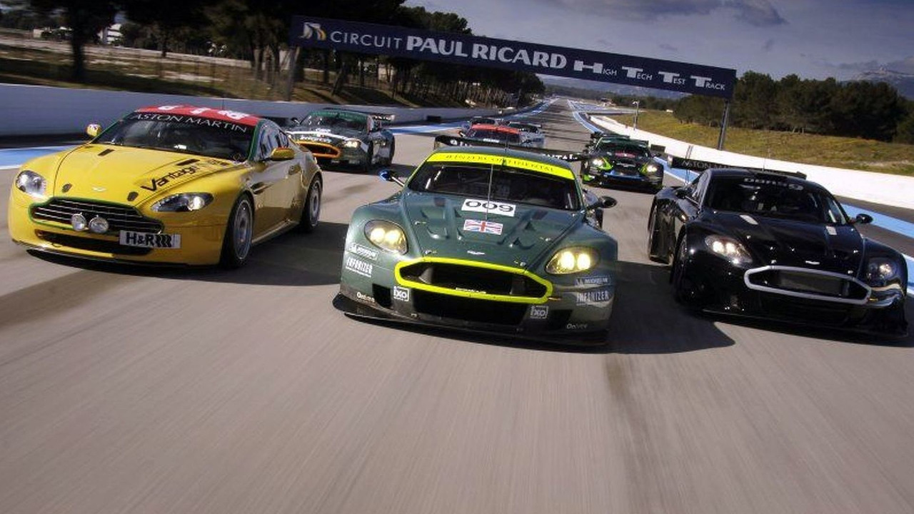 Aston Martin Range Test at Paul Ricard