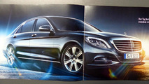 2014 Mercedes S-Class brochure leaked
