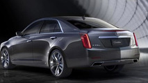 2014 Cadillac CTS breaks cover
