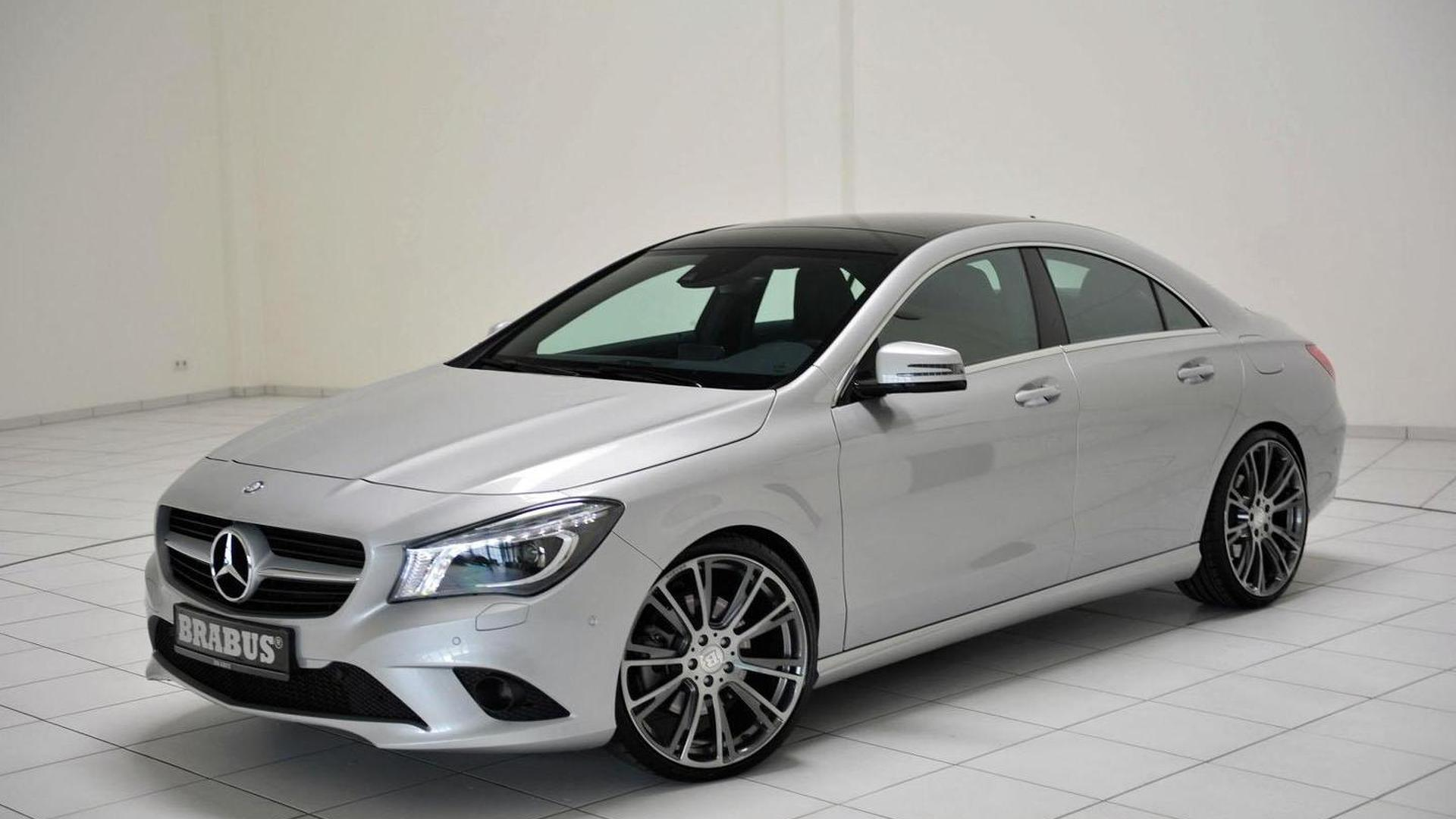 Brabus tunes the Mercedes CLA