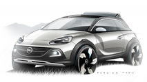 Opel ADAM ROCKS Concept previewed before Geneva launch