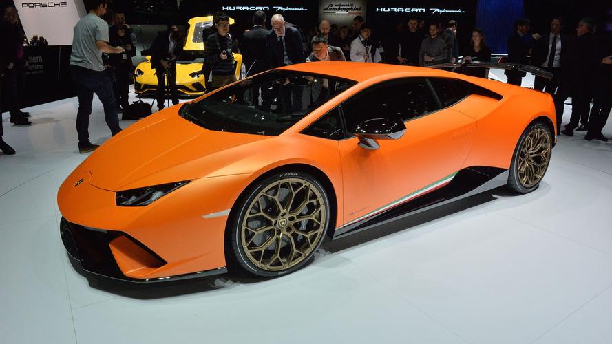 Genève 2017 - Lamborghini Huracán Performante, aussi radicale que prévue