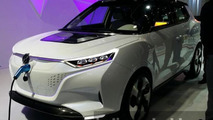 Ssangyong Tivoli EVR concept displayed at Seoul Motor Show