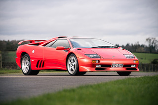 Meet the Last Lamborghini Diablo SV Ever Built