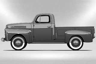 Watch 13 Generations of the Ford F-Series Evolve in One GIF