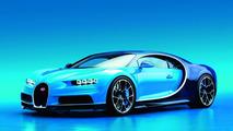 Bugatti Chiron - Pas d'édition spéciale pour le moment