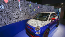 Fiat 500 Pepsi theme car revealed by Garage Italia Customs