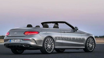 Mercedes-Benz C-Class Cabriolet render sees into the future