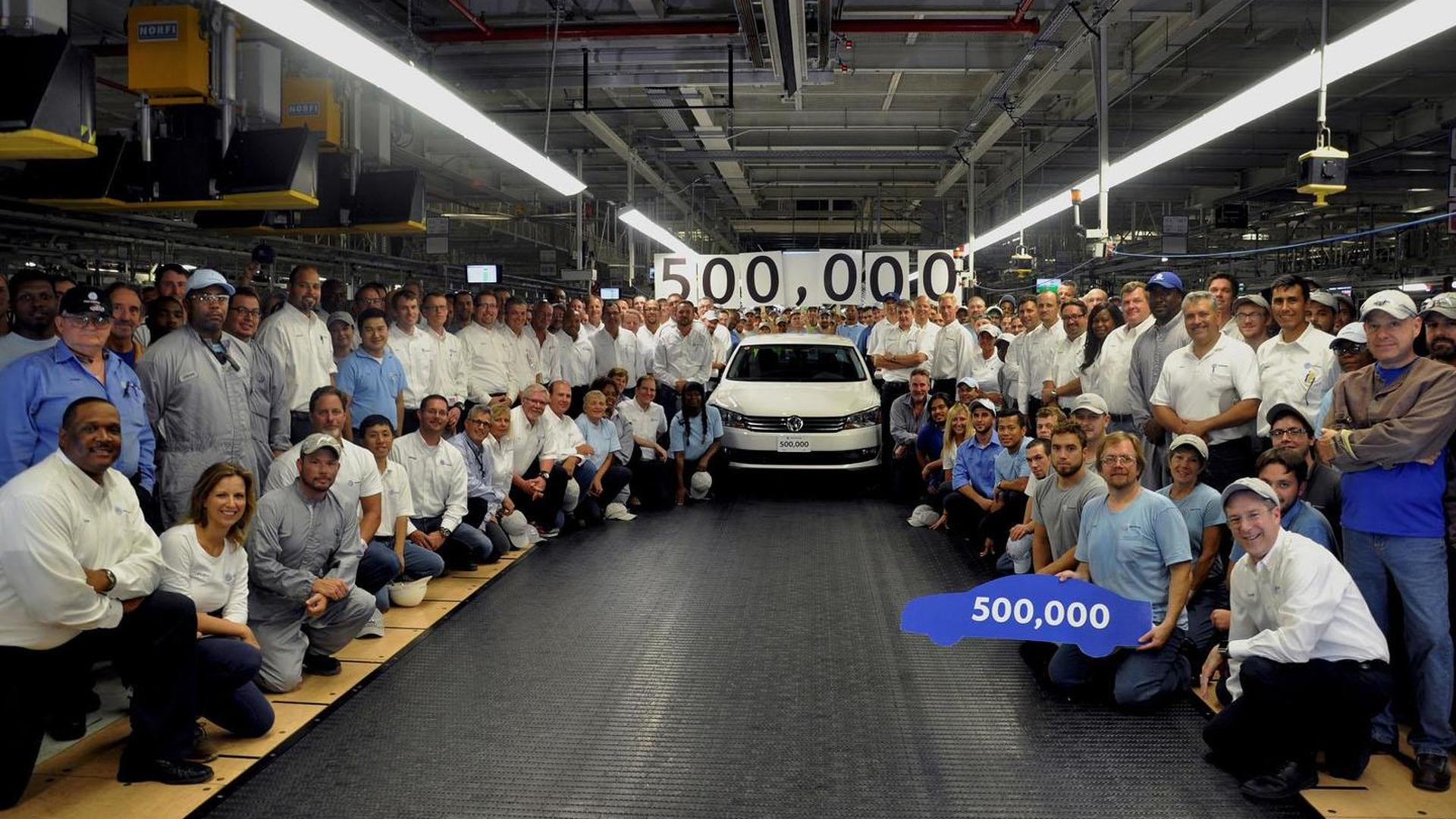 Volkswagen builds their 500,000th Passat in the U.S.