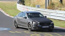 2014 Mercedes-Benz C63 AMG spied testing at Nurburgring