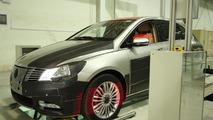 BYD & Daimler tease their upcoming Denza EV