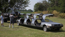 Amazing DeLorean collection includes monster truck, limousine, hovercraft and convertible