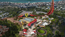 Ferrari Land in PortAventura resort in Spain