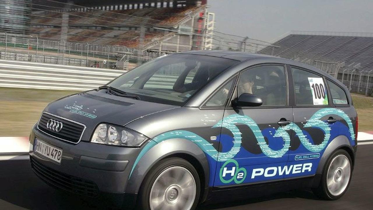 Audi new hydrogen-powered A2-H2