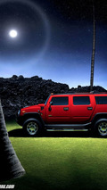 HUMMER H2 Limited Edition in Victory Red