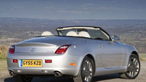 2006 Lexus SC430 Model Year Refinements (UK)