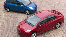New Toyota Yaris sedan & liftback