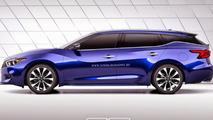 Nissan Maxima Wagon render