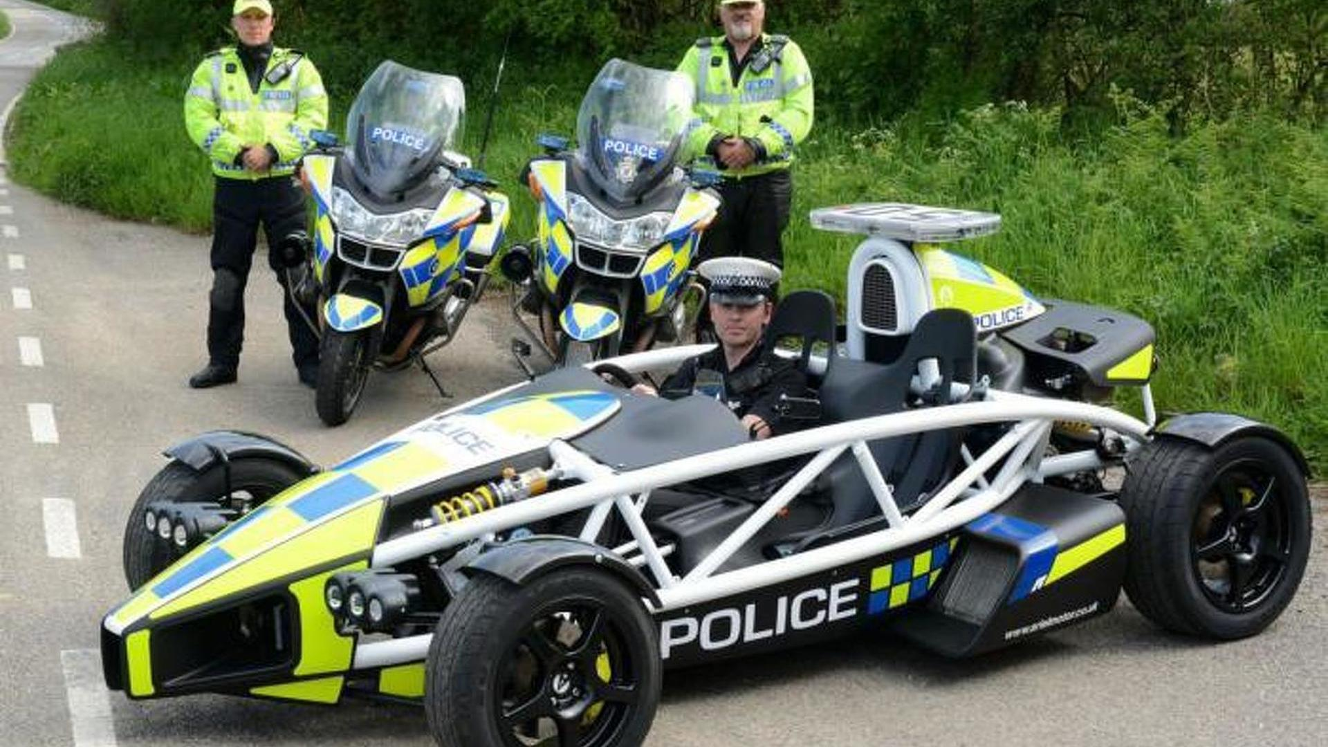 Ariel unveils a one-off Atom police car