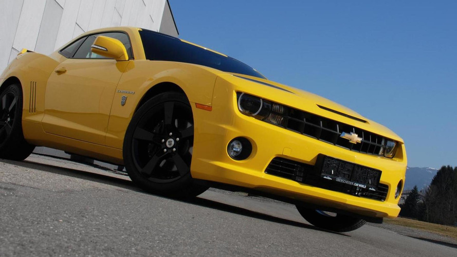 Chevrolet Camaro Transformers edition presented by  O.CT-Tuning