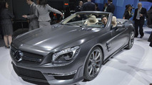 Mercedes SL 65 AMG 45th anniversary edition live in New York 04.4.2012
