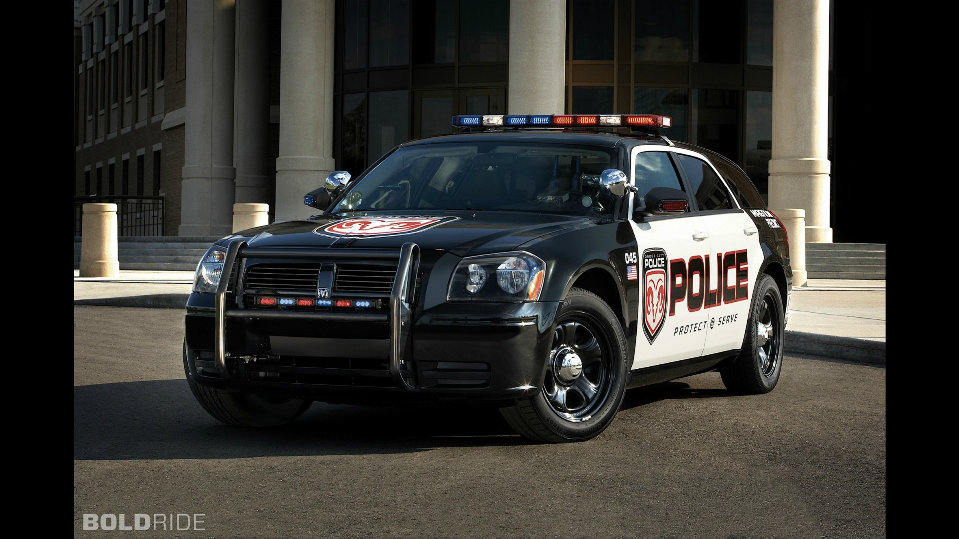 Dodge Charger Police Vehicle