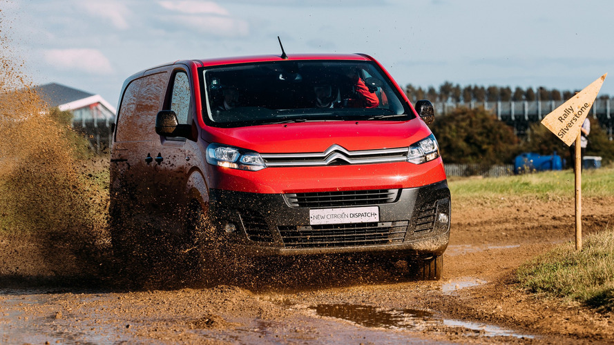 Citroen Dispatch wants to prove its agility in WRC test
