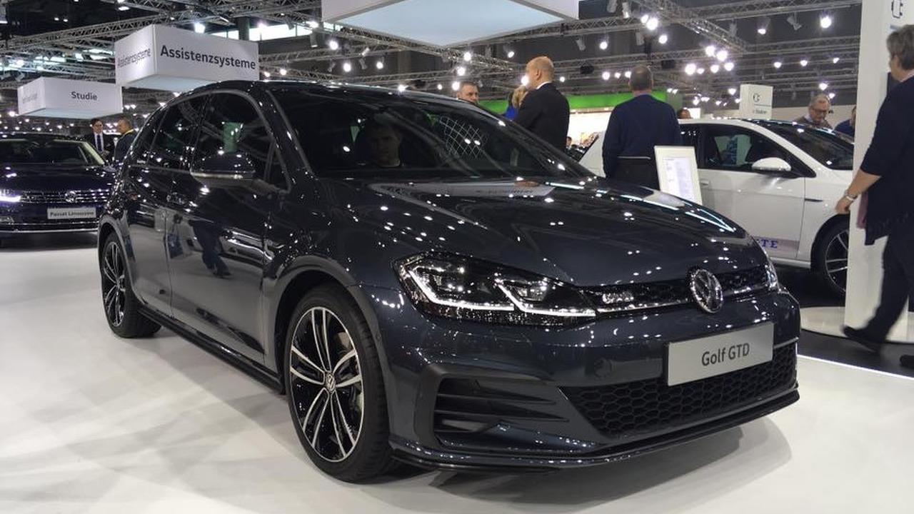 2017 VW Golf GTD facelift