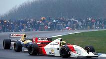 Ayrton Senna, Damon Hill