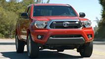 2012 Toyota Tacoma facelift leaked