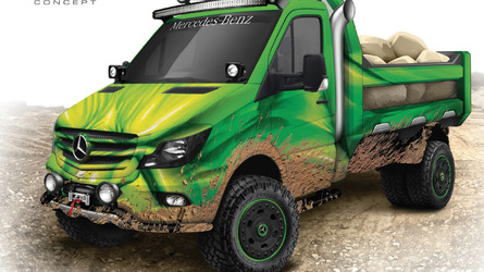 Mercedes Sprinter Extreme Concept shows wild side in Chicago