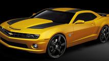 2012 Chevrolet Camaro Transformers Special Edition announced