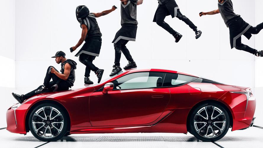 Lexus LC 500 Man and Machine Super Bowl ad