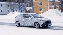 2019 Opel Corsa spy photo