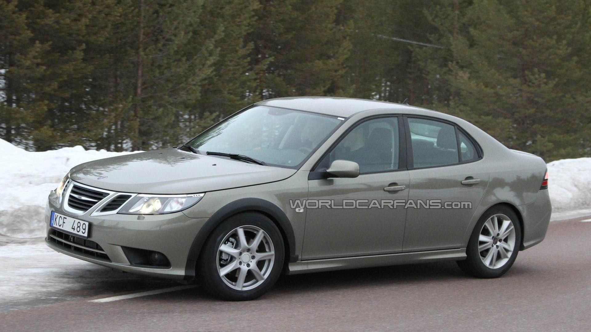 2012 Saab 9-3 test mule spied again