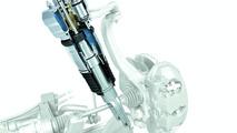 Porsche Panamera air suspension with add-on volume on demand