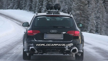 Audi A4 Allroad Winter Testing Spy Photos in Daytime/Nightime