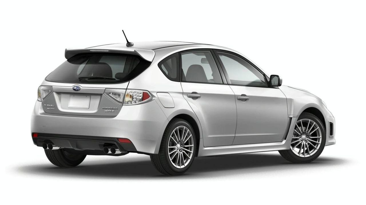 2011 Subaru Impreza WRX 5-door hatchback facelift 01.04.2010
