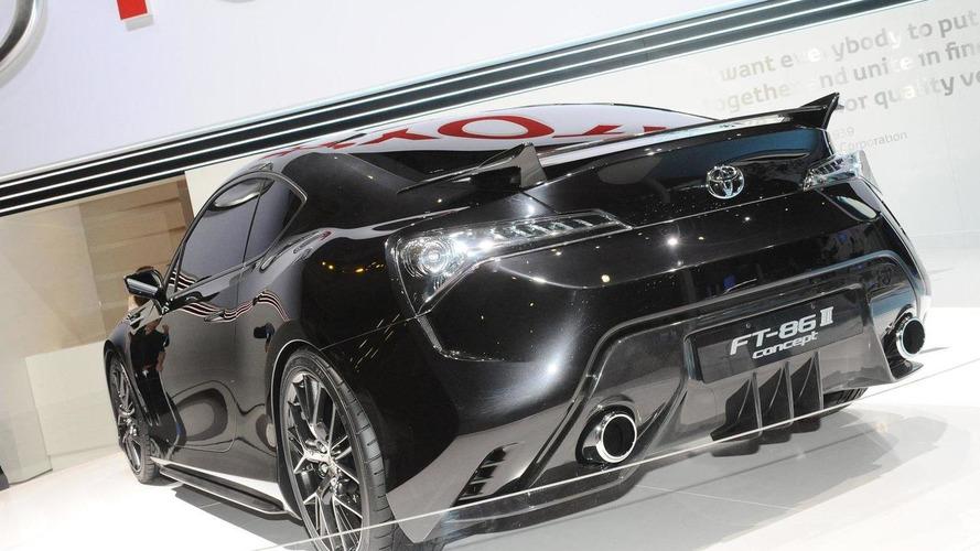 Toyota FT-86 II Concept revealed in Geneva