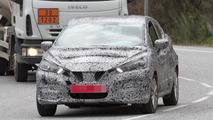 2017 Nissan Micra spy photo