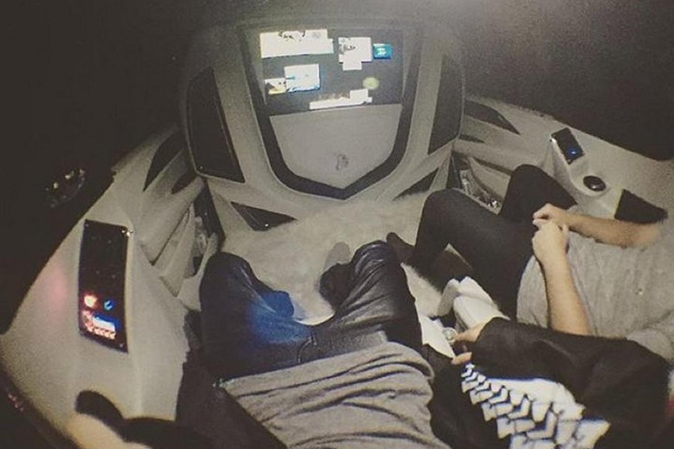 Justin Bieber Shows Off His New Custom Cadillac Escalade