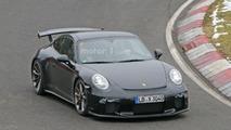 Porsche 911 GT3 facelift spy photo