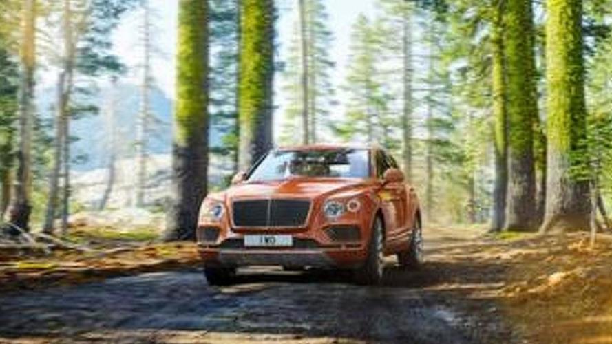 Bentley Bentayga leaked