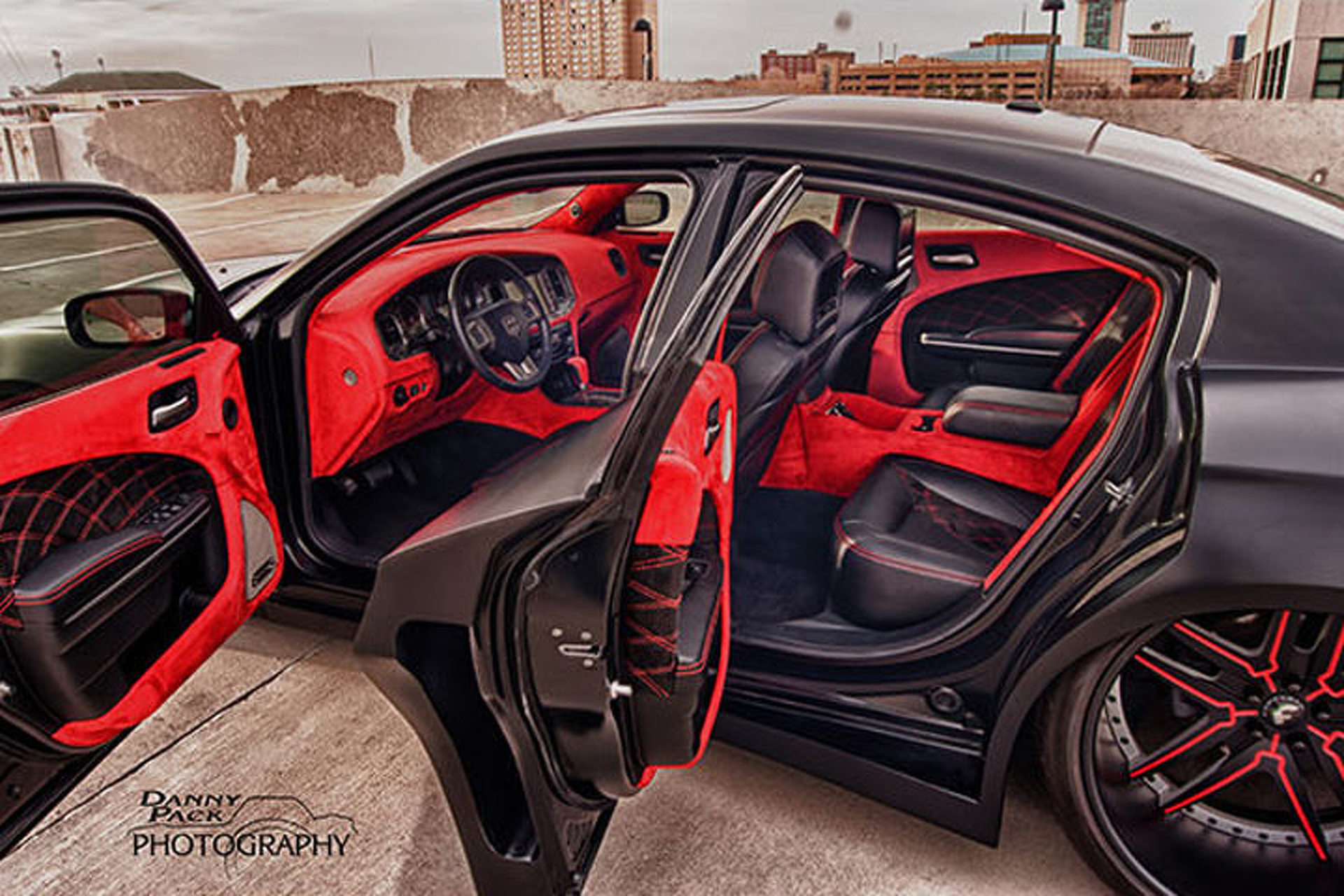 hellcat beware this widebody charger is a real terror. Black Bedroom Furniture Sets. Home Design Ideas