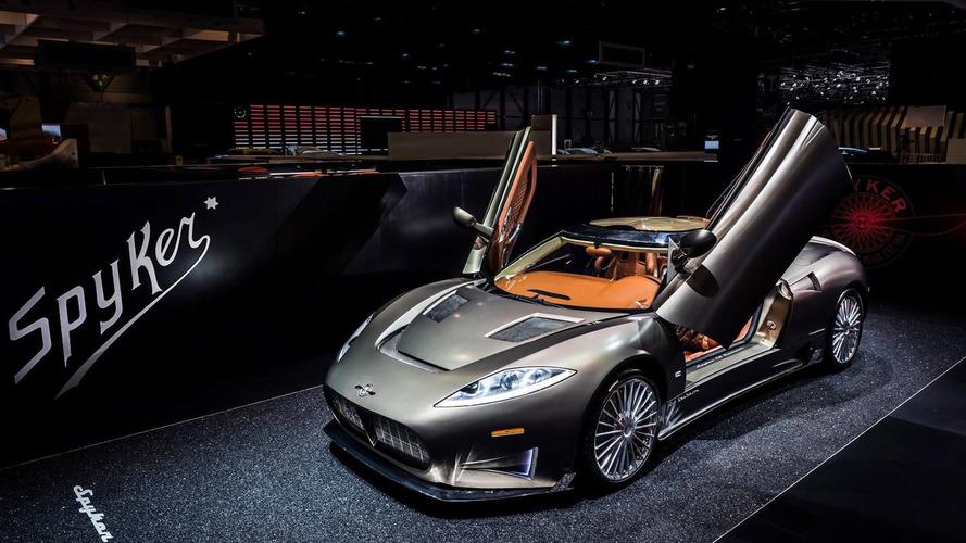 Spyker C8 Preliator arrives in Geneva with 525-hp Audi power