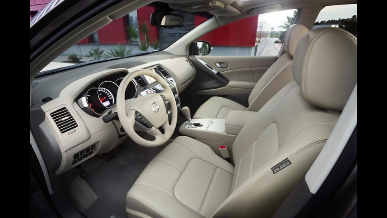 Nissan lança linha Murano 2012 com poucas mudanças