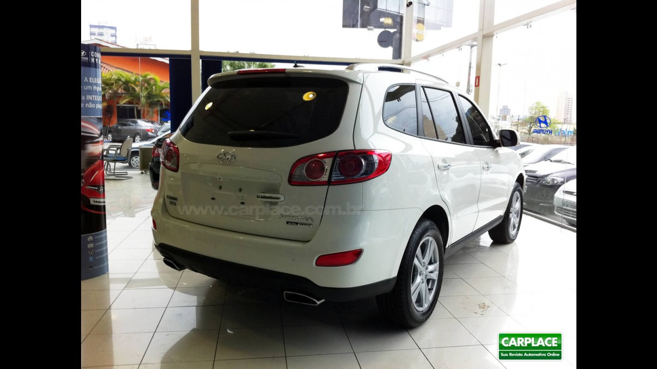 Moda é mais caro: Hyundai já vende ix35, Santa Fé e Vera Cruz na cor branca no Brasil