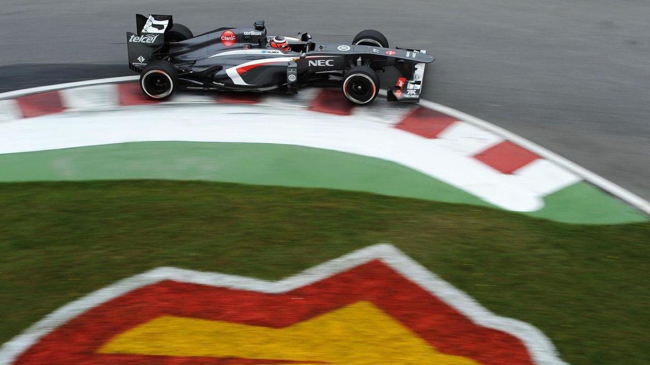 Sauber turning a corner, Nico Hulkenberg, 07.06.2013, Canadian Grand Prix